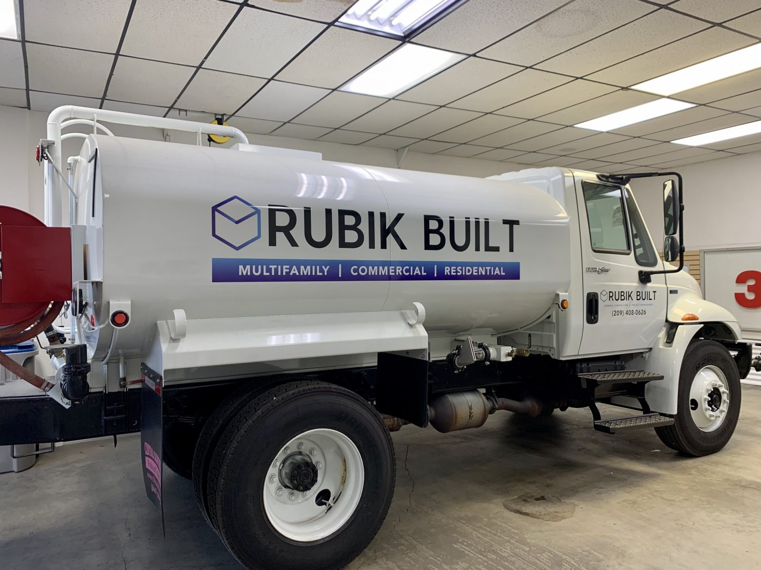 Fresno Tint Helps Rubik Built With Vehicle Signage - Vehicle Graphics and Signage in the Fresno, California Area
